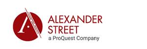 Alexander Street Art and Architecture in Video logo